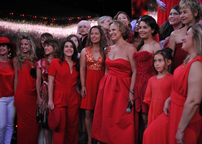 Revivez en images le RED Défilé organisé par «Sauvez le Cœur des Femmes» au VIP ROOM