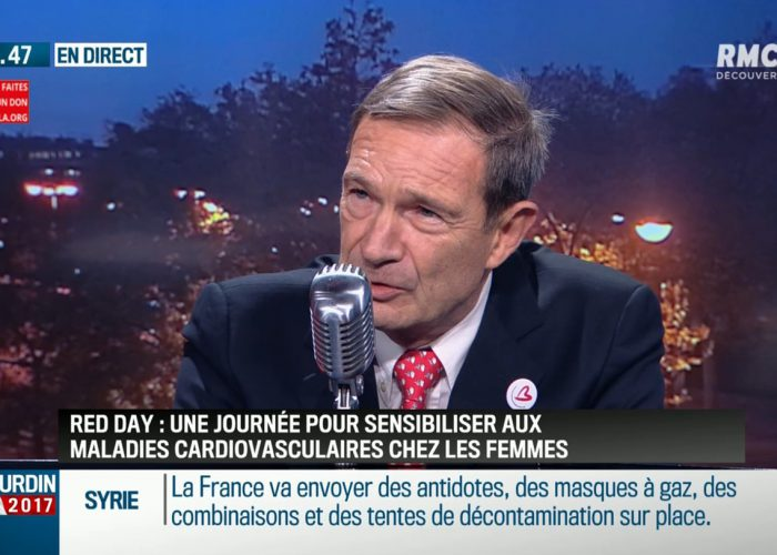 Dr Jean-Jacques Monsuez, invité de Jean-Jacques Bourdin à l'occasion du RED DAY