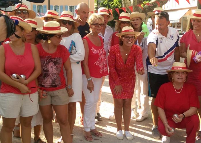 Vidéo 1er challenge féminin de pétanque à St Tropez