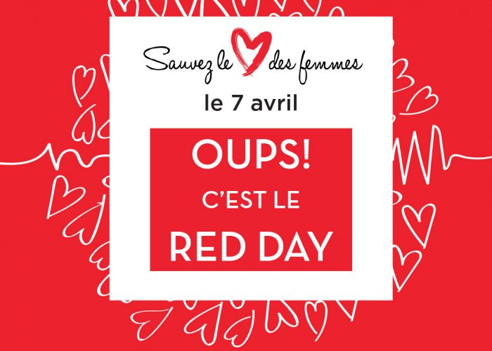 Toutes en rouge pour lutter contre les maladies cardiovasculaires des femmes