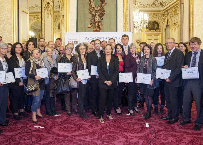 Ma Commune a du Coeur : Les labellisées 2014 – 2015