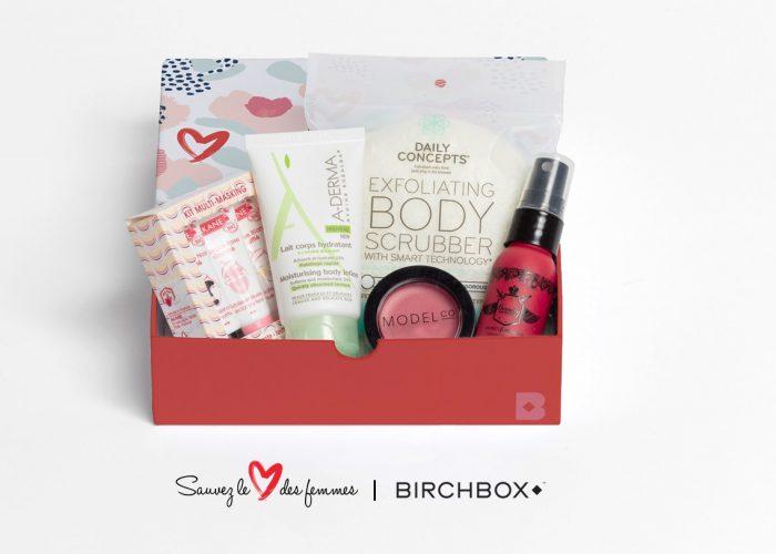 RED Month: en avril, Birchbox s'associe à Sauvez le Cœur des Femmes