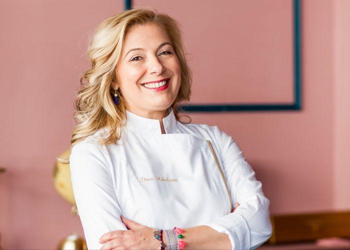 RED DAY – Dina Nikolaou, ambassadrice de la cuisine grecque