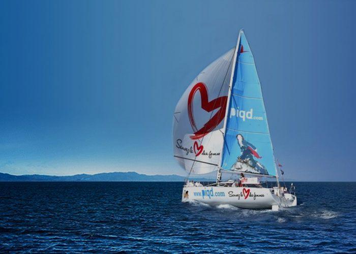 Suivez les exploits de la navigatrice Alexia Barrier lors de la Solitaire du Figaro