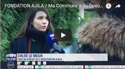 En direct sur BFM Paris pour encourager les communes à participer au Label 2017 Ma Commune a du Coeur