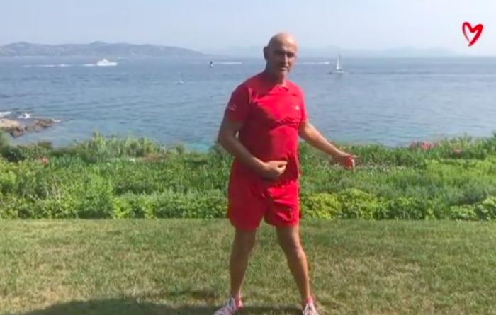 Retrouvez les exercices bons pour le coeur de notre coach Laurent Petit !