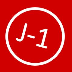J-1 pour l'édition 2019 du RED DAY !